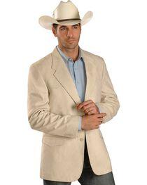 China Leather Men's Microsuede Western Jacket , , hi-res