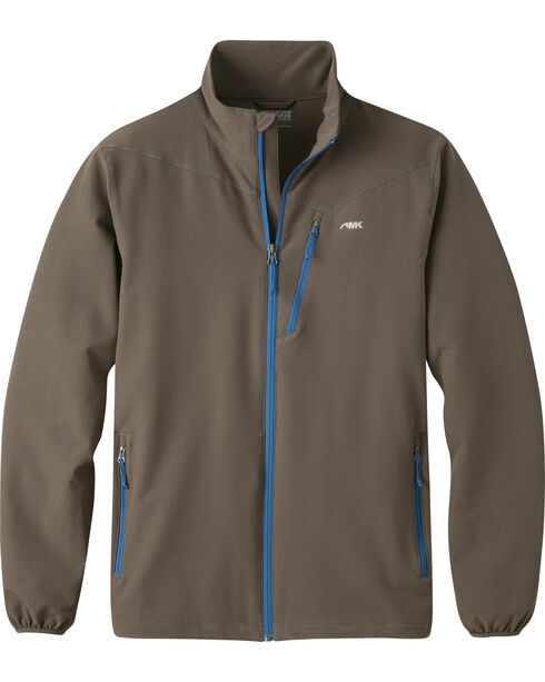 Mountain Khakis Men's Maverick LT Softshell Jacket, Brown, hi-res