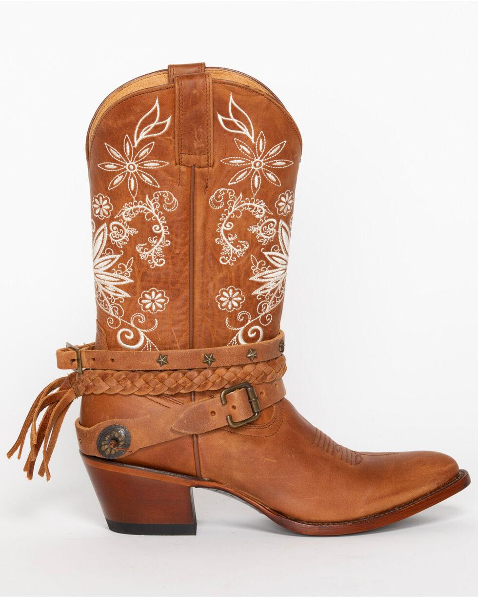 Shyanne® Women's Floral Festival Western Boots, Brown, hi-res