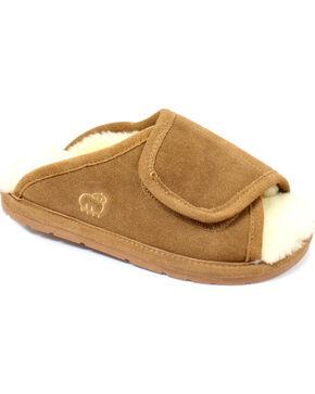 Lamo Dije California Women's Wrap Slippers, Chestnut, hi-res