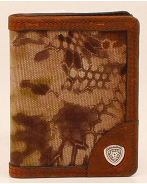 Ariat Kryptek Camo Flip Bifold Wallet, Camouflage, hi-res
