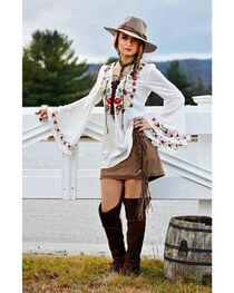Tasha Polizzi Women's White Jewel Tunic , , hi-res