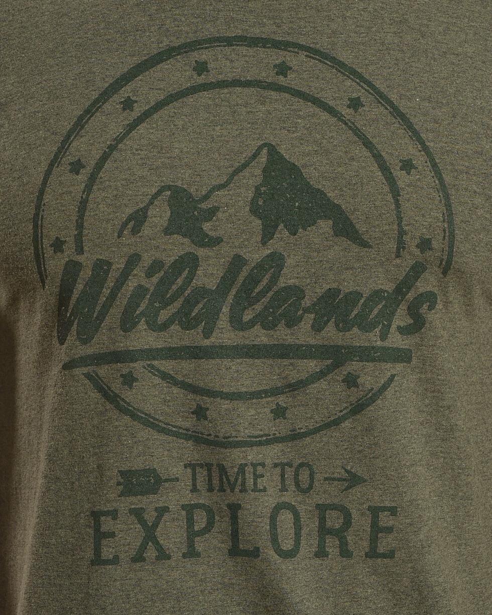 Cody James Men's Wildlands Short Sleeve T-Shirt, Green, hi-res