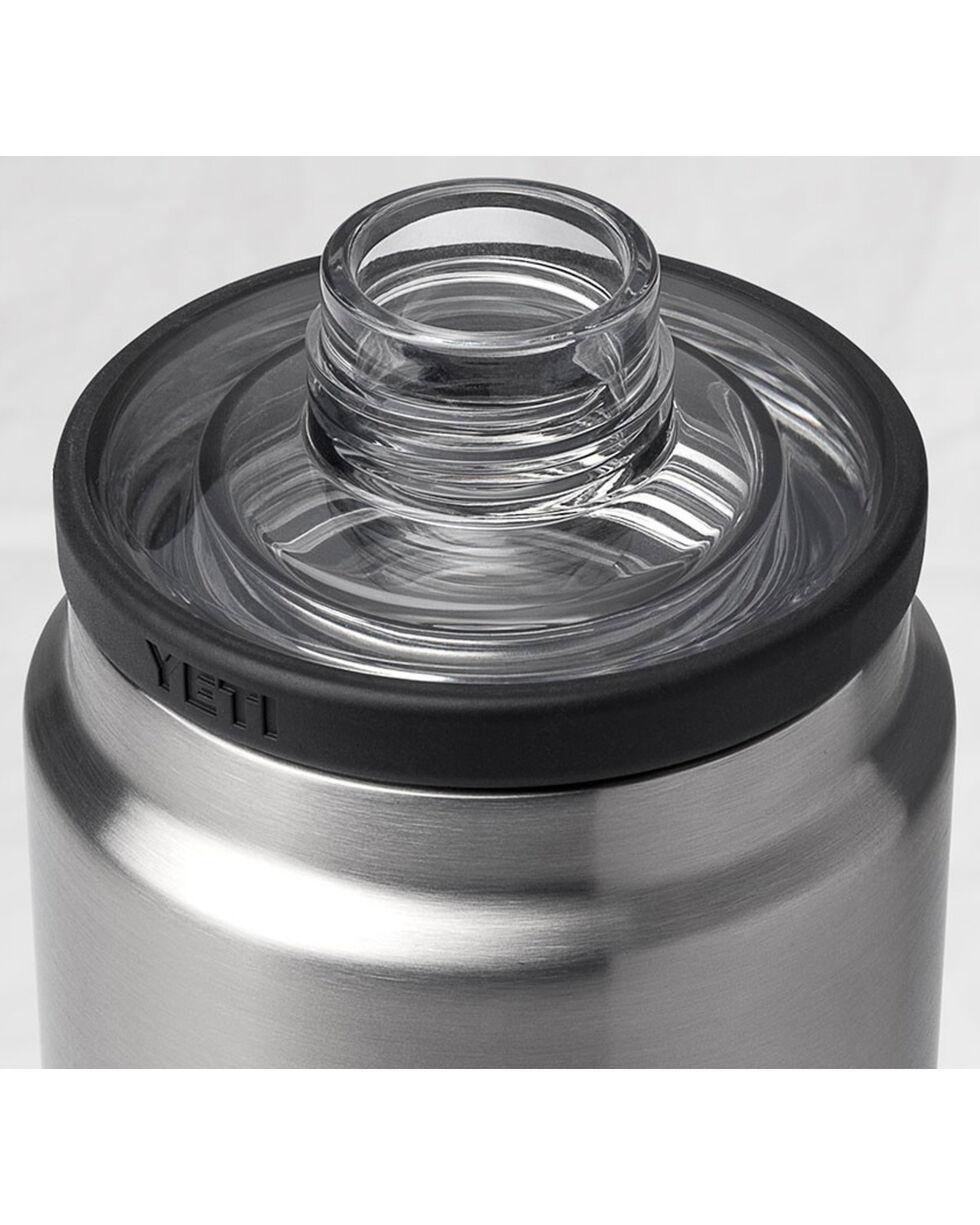 Yeti Black Rambler Bottle Chug Cap , Black, hi-res