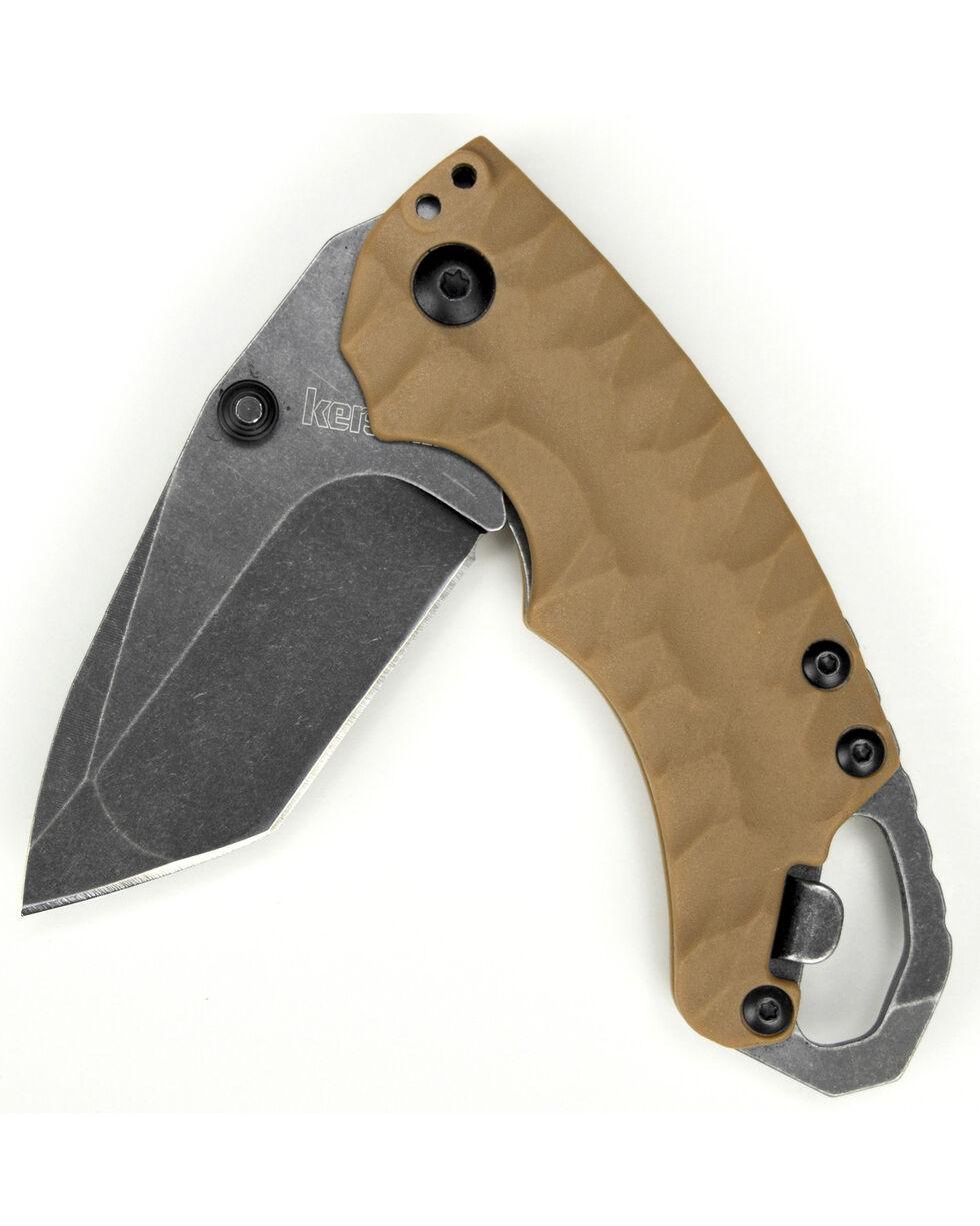 Kershaw Shuffle II Knife , Tan, hi-res