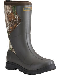 Ariat Women's Camo Springfield Rubber Boots - Round Toe, , hi-res