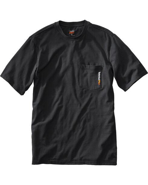 Timberland Men's Base Plate Blended T-Shirt , Black, hi-res