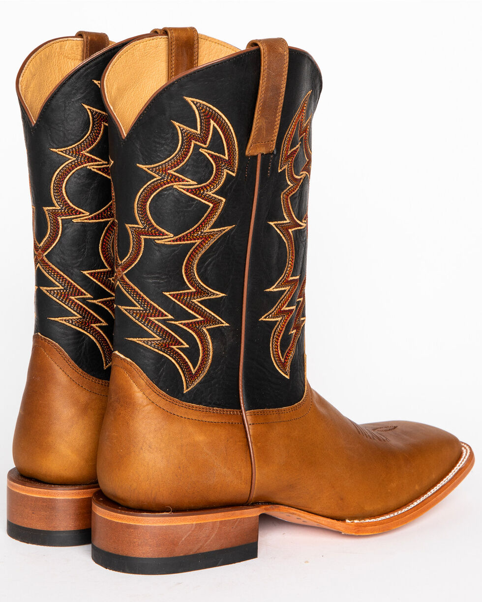 Cody James® Men's Embroidered Square Toe Western Boots , Brown, hi-res