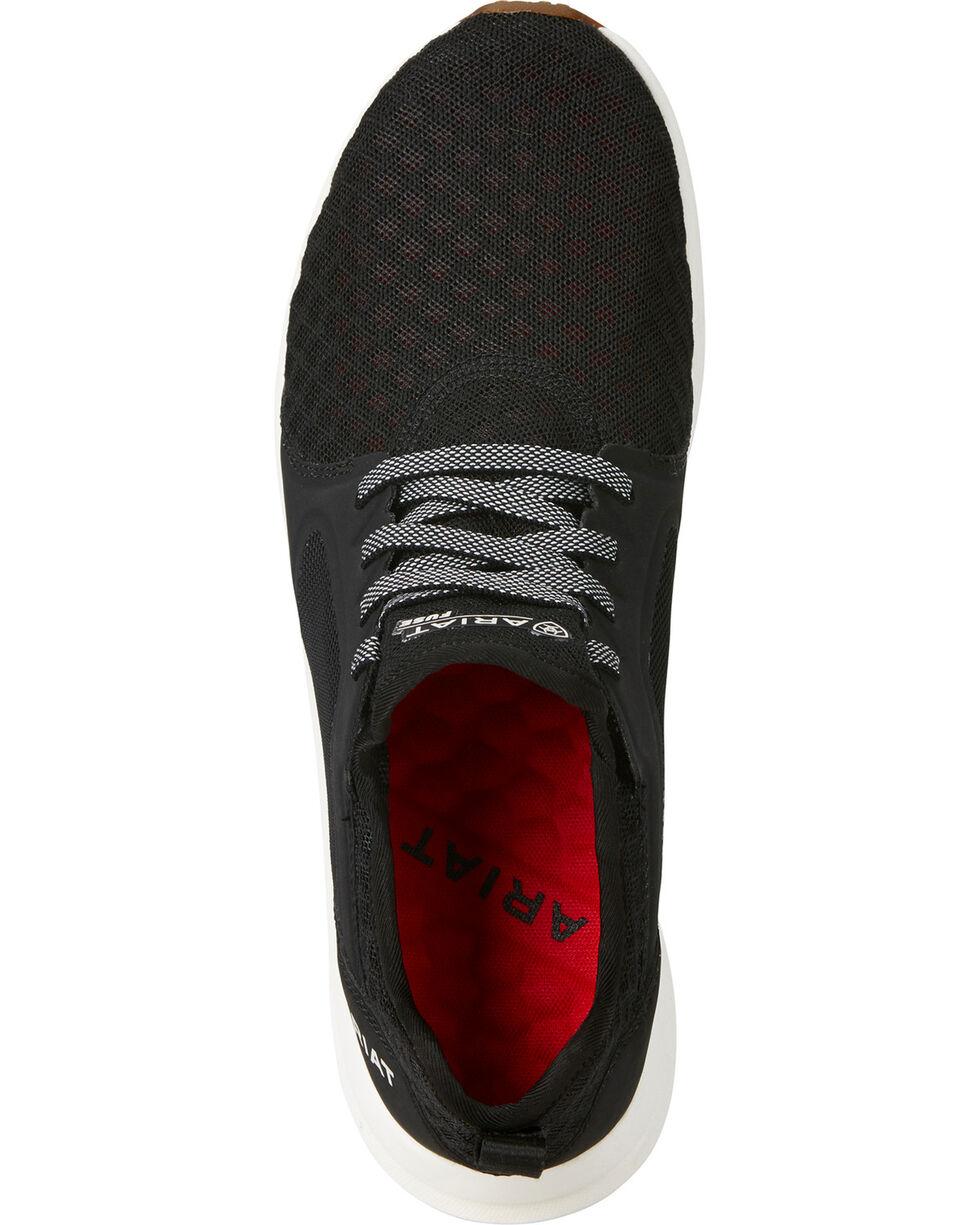 Ariat Women's Fuse Solid Mesh Sneakers, Black, hi-res