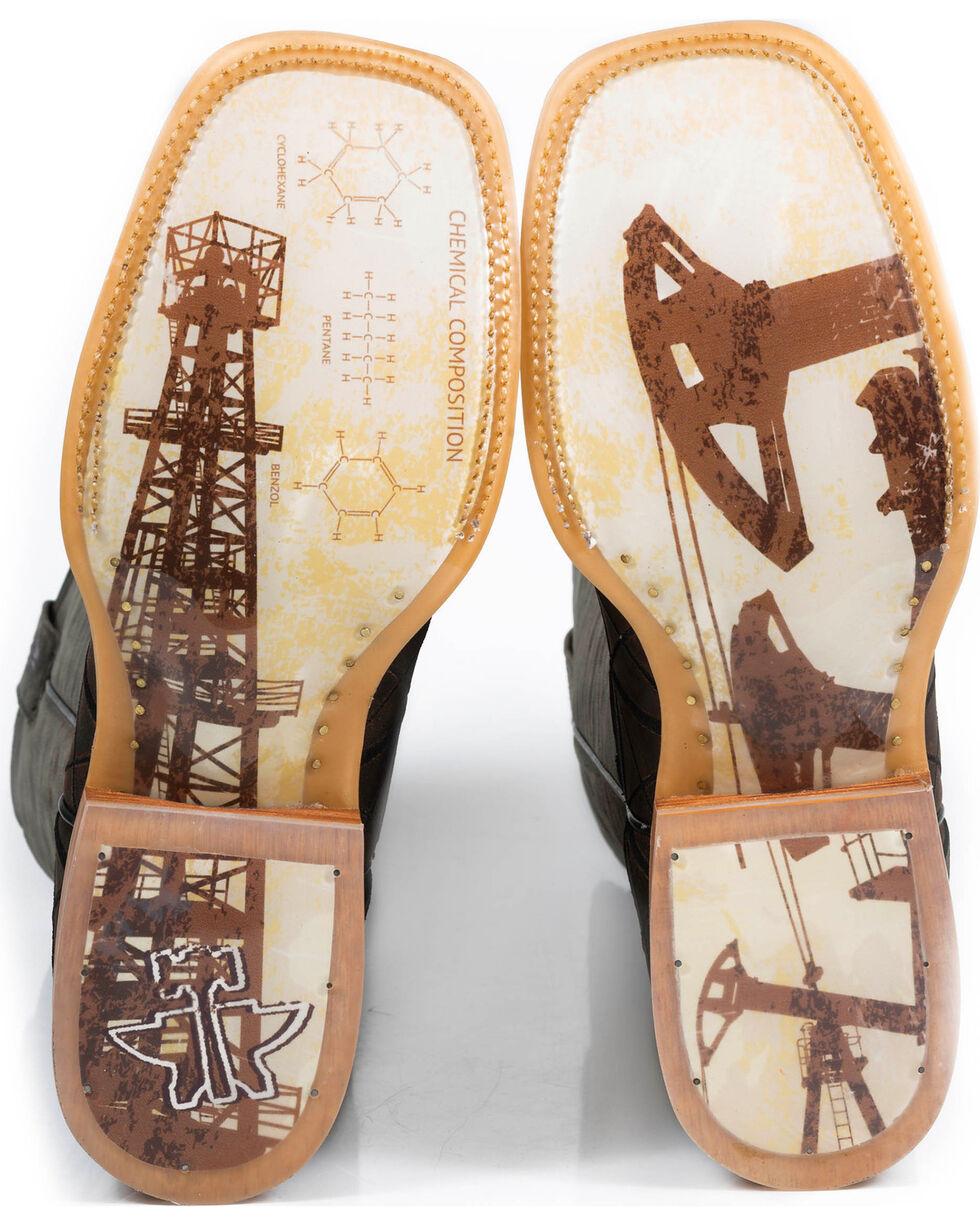 Tin Haul Men's Derrick Western Boots, Brown, hi-res