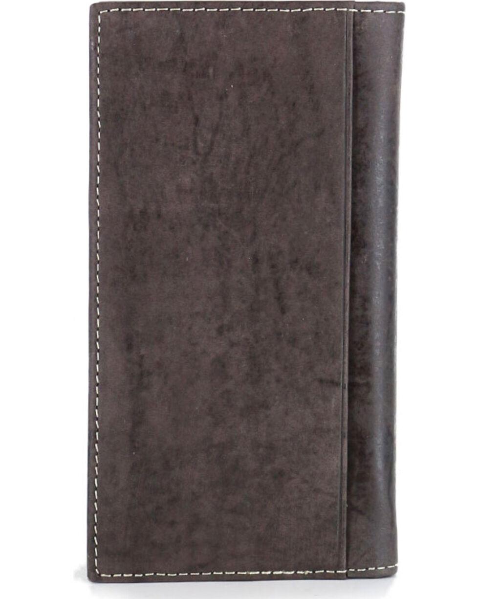 Cody James® American Flag Rodeo Wallet/Checkbook Cover, Tan, hi-res