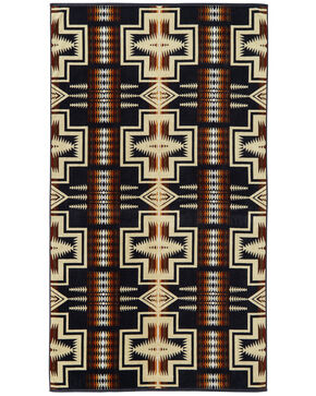 Pendleton Harding Beach Towel, Navy, hi-res
