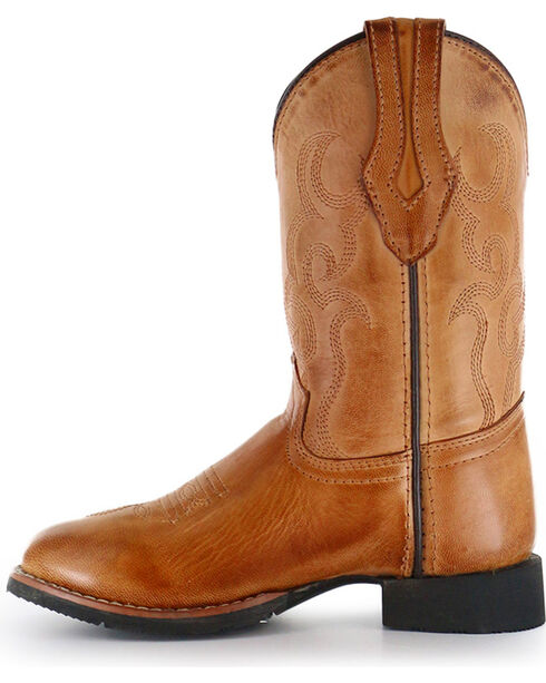 Cody James® Children's Showdown Round Toe Western Boots, Tan, hi-res