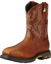 Ariat Men's WorkHog H2O CSA Work Boots, , hi-res