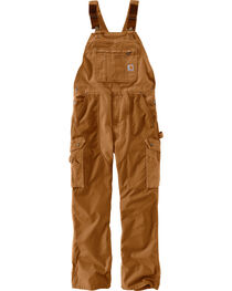 Carhartt Men's Double Barrel Bib Overalls, , hi-res