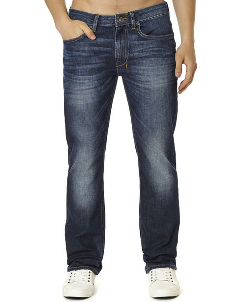 Buffalo Men's Six X Jeans - Straight Leg , Denim, hi-res