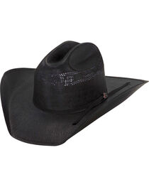 Justin Men's Cutter 20X Straw Cowboy Hat, , hi-res