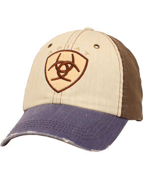 Ariat Men's Patch Multicolored Cap, Multi, hi-res
