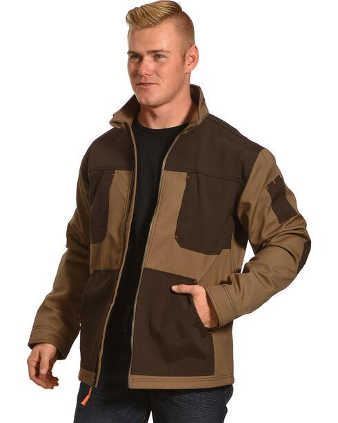 American Worker Men's Brace Canvas Jacket, Brown, hi-res