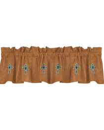 HiEnd Accents Las Cruces II Embroidered Valance, , hi-res