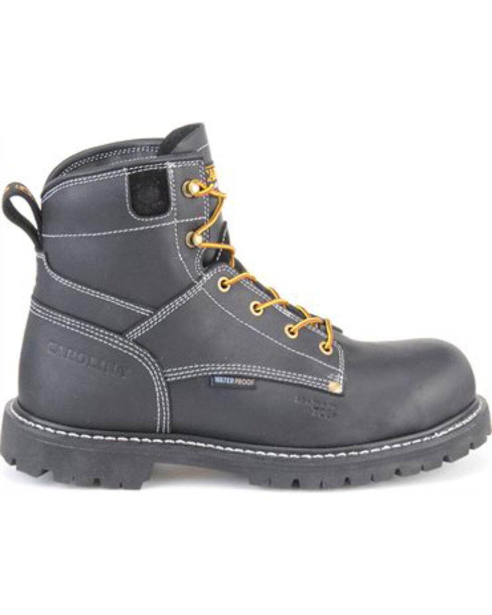"Carolina Men's 6"" Waterproof Composite Toe Work Boots, Black, hi-res"