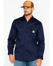 Carhartt Flame Resistant Dry Twill Work Shirt - Big & Tall, , hi-res