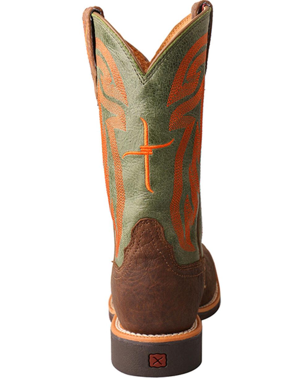 Twisted X HOOey Kids' Logo Western Boots, Lt Brown, hi-res