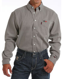 Cinch Men's FR WRX Long Sleeve Work Shirt , , hi-res