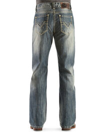 Rock & Roll Cowboy Men's Double Barrel Relaxed Bootcut Jeans, , hi-res