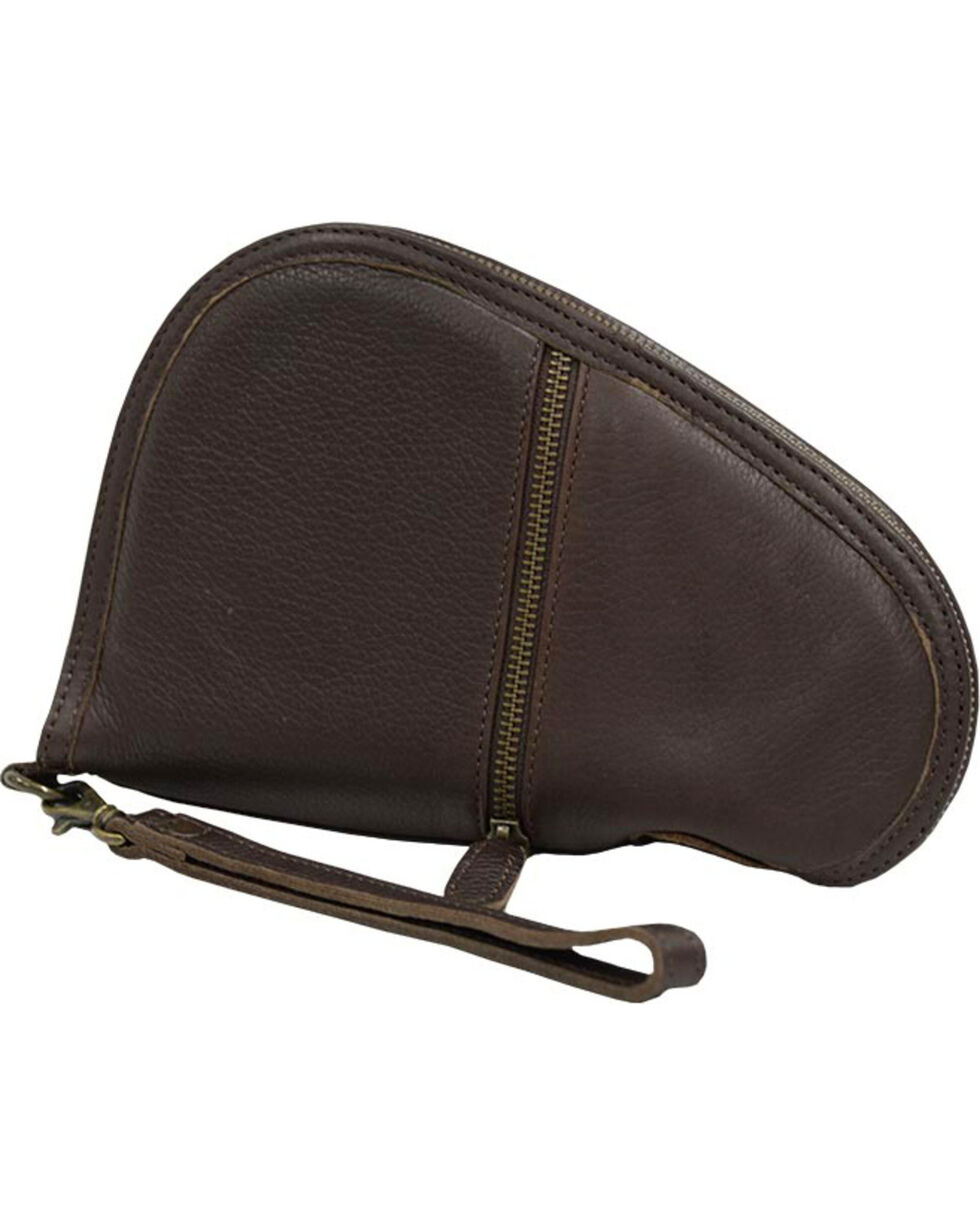 STS Ranchwear by Carroll Pistol Case, Chocolate, hi-res