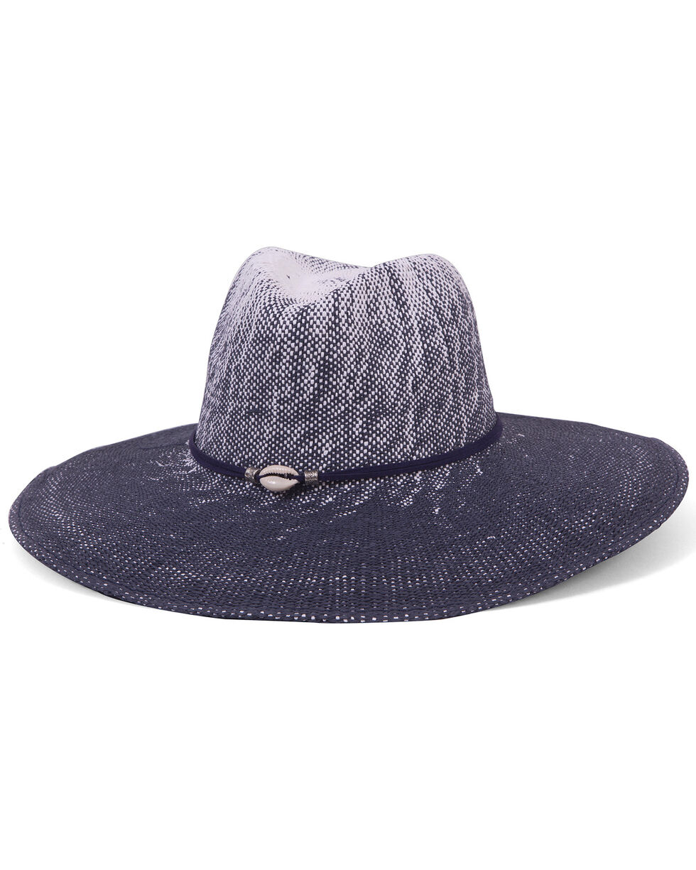 Physician Endorsed Women's Sandy Beaches Toyo Shell Accent Hat, , hi-res