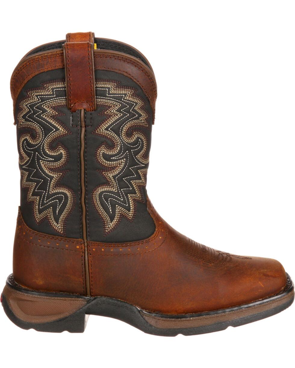 Durango Boys' Western Boots, Tan, hi-res