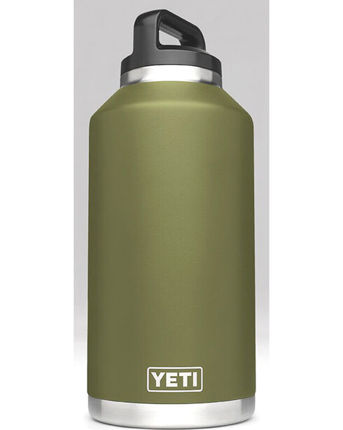 Yeti Olive Green 64 oz. Bottle Rambler , Olive, hi-res