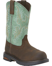 Ariat Women's Tracey Pull-On WP CT Western Work Boots, , hi-res