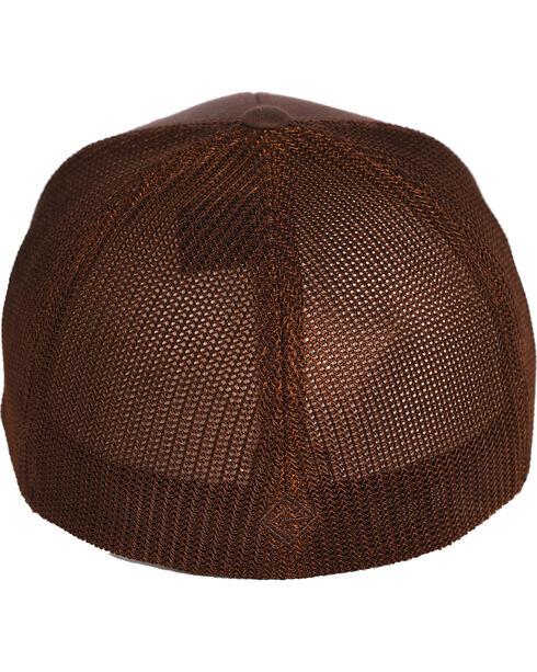 Tuf Cooper by Panhandle Men's FlexFit Ball Cap, Brown, hi-res