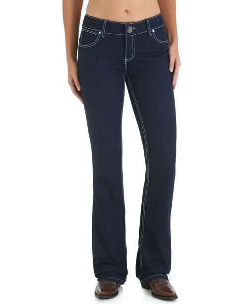 Wrangler Women's Premium Patch Mae Booty Up Jeans, Indigo, hi-res
