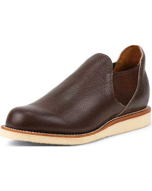 Chippewa Men's 1967 Original  Romeo Shoes, Brown, hi-res