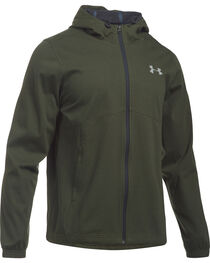 Under Armour Men's Green Storm Spring Swacket Hoodie, , hi-res