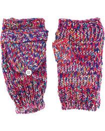 Shyanne® Women's Space Dye Convertible Mitten Gloves, , hi-res