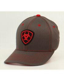 Ariat Men's FlexFit Logo Ball Cap, , hi-res