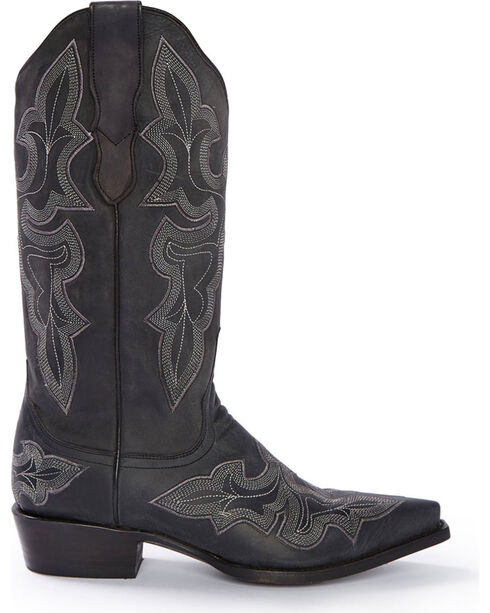 Stetson Women's Jess Western Boots, Black, hi-res