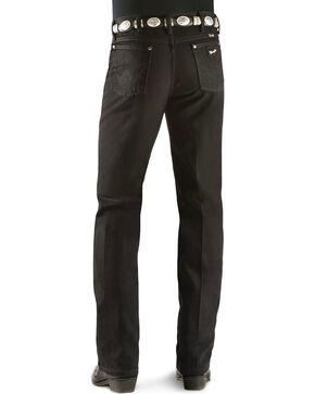 Wrangler Men's Silver Edition Slim Fit Jeans, Blk Denim, hi-res