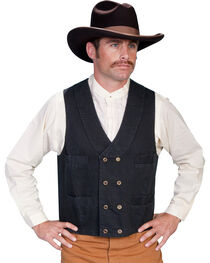 Rangewear by Scully Men's Double Breasted Vest, , hi-res