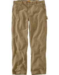 Carhartt Men's Weathered Duck Dungaree Pants, , hi-res