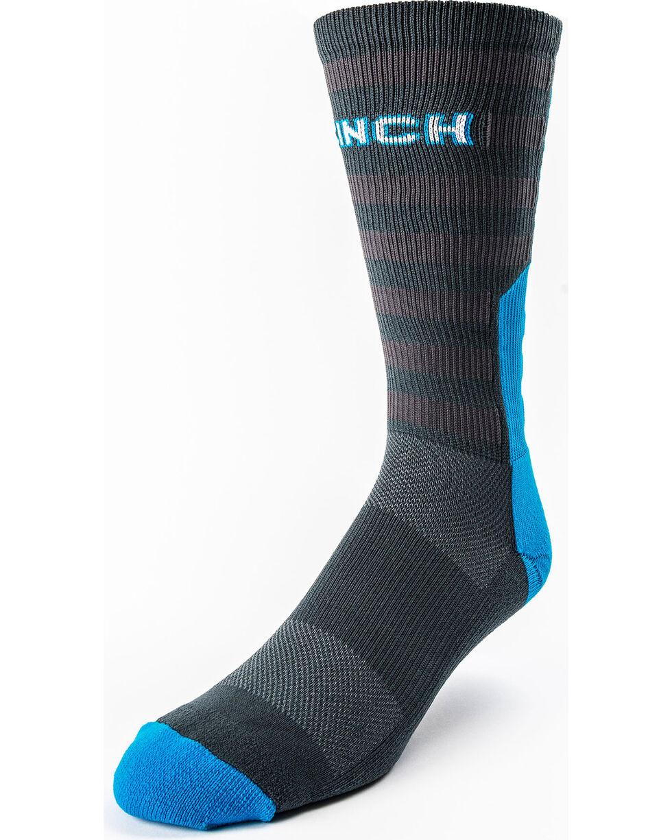 Cinch Men's Star Pattern Performance Crew Socks, , hi-res