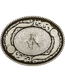 Montana Silversmiths Antiqued Wind Dancer Belt Buckle, , hi-res