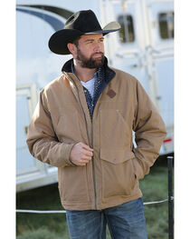 Cinch Men's Tan Canvas Concealed Rancher Jacket , , hi-res