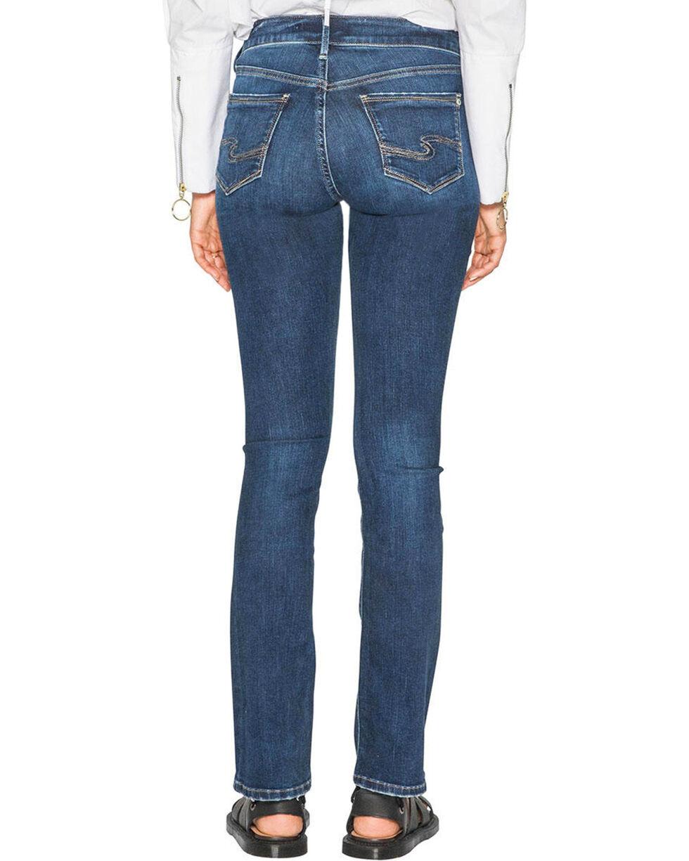 Silver Women's Indigo Avery Super Stretch Jeans - Slim Boot Cut , Indigo, hi-res