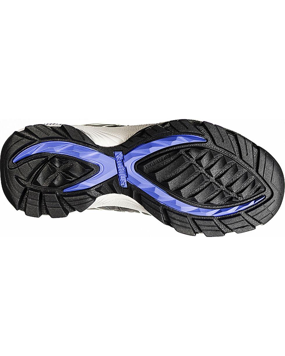 Nautilus Women's ESD Composite Toe Lace Up Shoes, Grey, hi-res