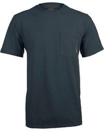 Timberland Pro Men's Navy Base Plate Blended T-Shirt , , hi-res